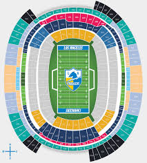 Los Angeles Chargers Seating Chart Los Angeles Chargers Virtual Venue Charger Seating Chart View