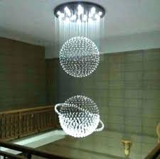 extra large chandelier modern chandeliers best crystal custom made light ball item rhinestone earrings