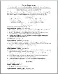Resume For Cna With No Experience Cool Resume Examples No Experience