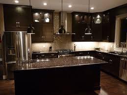 custom modern kitchen cabinets. Custom Black Contemporary Kitchen Cabinets Elegan Lamp Decor With Modern  Stove Single Sink