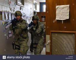 Air Force Security Forces Tech School Tech Sgt Eric Godinez Left 82nd Security Forces Squadron