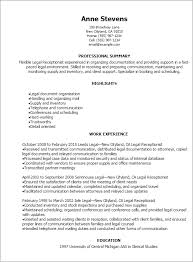 Receptionist Resume Beauteous 28 Legal Receptionist Resume Templates Try Them Now MyPerfectResume