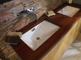 wooden countertops idea