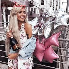 10pcs/lot <b>18inch Star</b> Balloon Inflatable Helium Baloon Wedding ...