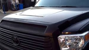 2015 Toyota Tundra Limited - front upper grille Plasti Dip black ...