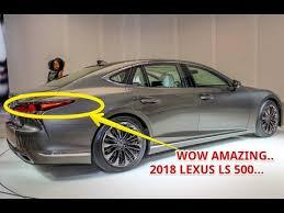 2018 lexus 500 ls. interesting lexus hot news 2018 lexus ls 500 price to lexus ls