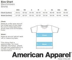 American Apparel Measurement Chart American Apparel Unisex Baby Thermal Long Sleeve T Shirt