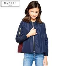 er jackets girls women autumn faux leather