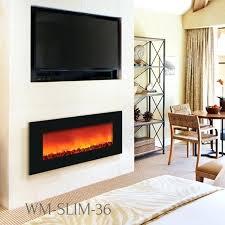 slim electric fireplace sierra flame slim slim wall mount electric fireplace with heat crawford 47 in slim electric fireplace