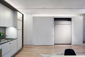charming white office. Charming White Loft Office Kitchen Ideas With Black Countertop Plus Tap Faucet Also Laminate Wooden Floor U
