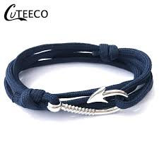 <b>CUTEECO</b> Vintage Braided <b>Bracelet</b> Men and Women Alloy Arrow ...
