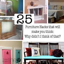 furniture hack. diy furniture ideas hack how does she