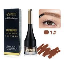 amazon vanker 4 colors bsimone air cushion makeup eyebrow gel natural waterproof eyebrow cream with brush y charming 1 beauty