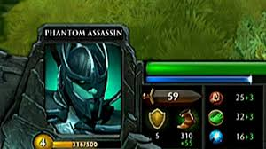 Playing the <b>Phantom Assassin</b>