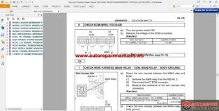 hino wiring schematics hino wiring diagrams online hino dutro workshop repair manual including wiring diagram gearbox