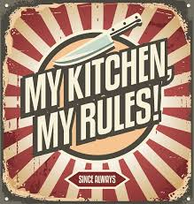 Awesome A Vintage Kitchen Poster