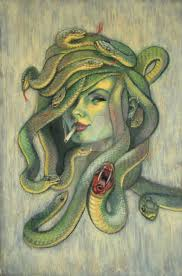 Medusa Julianne Mcpeters No Pin Limits Fantasy Snake Headed