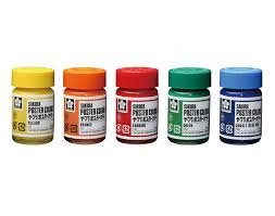 poster colors in glass bottle|sakura color products corp.