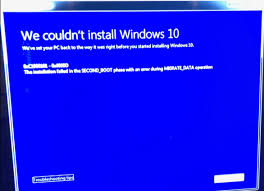 The Case Of Troubleshooting A Failed Windows 10 Pro In Place