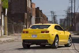 2010 Chevrolet Camaro Transformers Special Edition Revealed