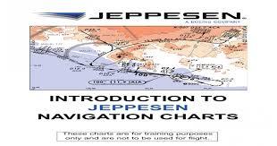 Jeppesen Navigation Chart Understanding