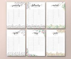 Perpetual Calendar Template | Kris-10's Perpetual Birthday Calendar ...