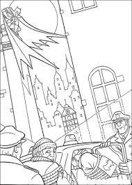 Batman Dieven En Politie Van Gotham Kleurplaat Gratis Kleurplaten