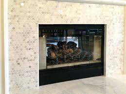 marble subway tile fireplace surround marble subway tile fireplace surround white
