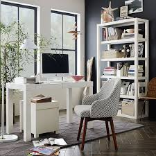 West elm office chair Cognac Leather Scroll To Previous Item West Elm Parsons Desk White West Elm