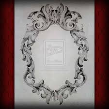 oval filigree frame tattoo. Gallery Images And Information: Oval Filigree Frame Tattoo T