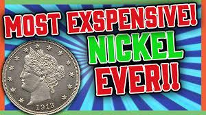 Most Valuable Nickels Ever V Nickel Value