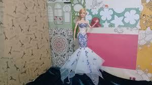 Búp bê Barbie :May váy Nàng tiên cá Ariel - Barbie Doll : DIY dress for  Ariel - Disney Princess in 2020 | Doll dresses diy, Doll dress, Diy dress