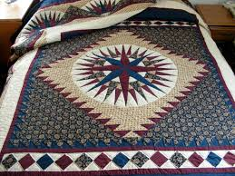 Out Of The Wilderness: Mothers, Daughters and Quilts | Anita K Greene & Mariner's Compass Quilt Adamdwight.com