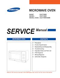 samsung ce2713n service manual