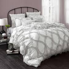 comforter  ruffle bedding comforter set walmartcom bedroom