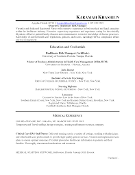 Ideas Of Compliance Manager Resume Summary Fabulous How To Write
