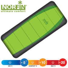 <b>Спальный мешок Norfin Light</b> Comfort 200 NF Зеленый — купить ...