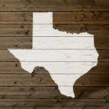 map of decor map of texas state outline white distressed paint on reclaimed wood