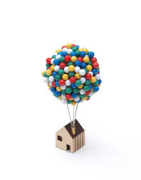 Up House Balloons Balloon Pin House Clive Roddy