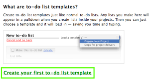 to do lists templates basecamp classic can i save and reuse to do lists