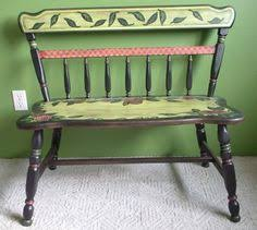 Painted Wooden Garden Benches Hand Painted Garden Benches Painted Hand Painted Benches