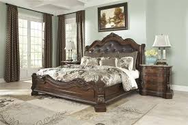 north s sleigh bedroom set endearing north s king sleigh bed with north s dresser and