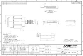 sma plug male straight 50 ohms coaxial connector Male Plug Diagram sma plug male straight coaxial connector 50� sma1121a4 gtg 178u 50 drawing 110 male plug wiring diagram