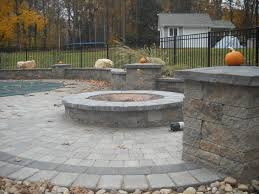 patio ideas with square fire pit. Square Patio Paver Designs Ideas With Fire Pit