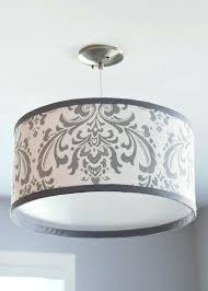 diy drum lamp shade chandelier epistol info for gray shades decorations 19