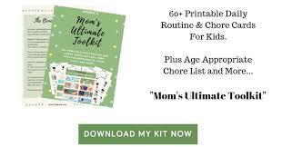 No More Nagging Chart Get Moms Ultimate Toolkit Beenke