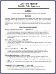 Resume Examples For Law Enforcement Nmdnconference Com Example