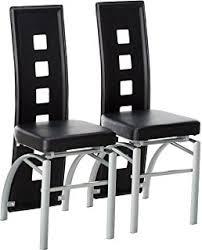 coaster los feliz contemporary black dining chair