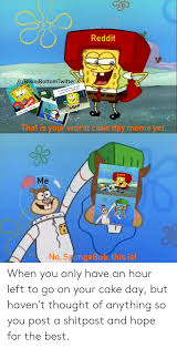 Reddit Rbikinibottomtwitter That Is Your Worst Cake Day Meme Yet