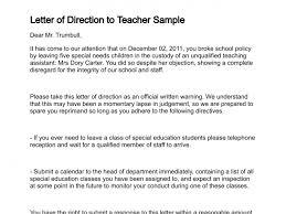 Application Letter For Transfer Of School For Teachers